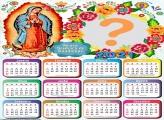 Foto Calendário 2021 Nossa Senhora de Guadalupe