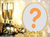 Champanhe Réveillion 2019 Moldura