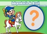Moldura Independência do Brasil Turma da Mônica