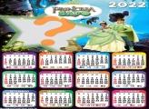 Calendário 2022 A Princesa e o Sapo Montar Online
