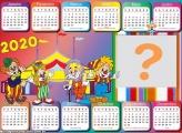 Calendário 2020 Circo Horizontal
