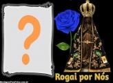 Nossa Senhora Aparecida Rogai por Nós Moldura