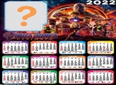 Calendário 2022 Vingadores Ultimato Montar Online
