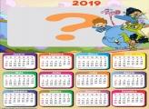 Calendário 2019 Meu Amigãozão