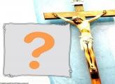 Nós Cremos em Jesus Moldura