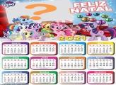 Calendário 2021 My Little Pony de Natal
