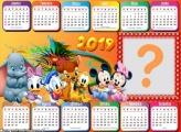 Calendário 2019 Baby Disney Horizontal