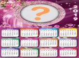 Calendário 2019 Flores