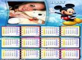 Calendário 2017 Mickey