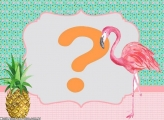Moldura Flamingo