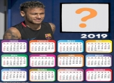 Calendário 2019 do Neymar