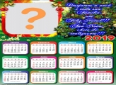 Calendário 2019 Mensagem de Natal