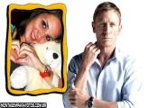 Moldura Daniel Craig
