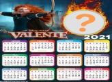 Foto Montagem Online Calendário 2021 Valente