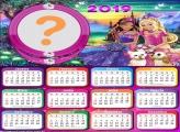 Calendário 2019 Barbie e o Castelo de Diamante