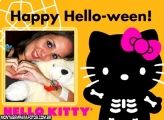 Hello Kitty Kid Halloween Moldura