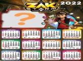 Calendário 2022 Zak Storm Fazer Grátis