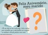 Feliz Aniversário para Marido Colagem de Fotos