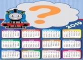 Calendário 2019 Thomas e Seus Amigos Trem