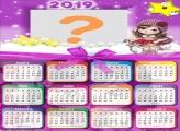 Calendário 2019 Jolie Boneca