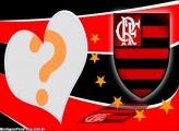 Moldura Fotos com Flamengo