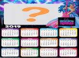 Calendário 2019 Barbie Rainhas do Rock