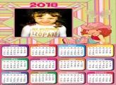 Calendário 2018 Moranguinho Cowgirl