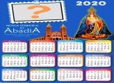 Calendário 2020 Nossa Senhora da Abadia