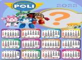 Calendário 2022 Robocar Poli Colar e Imprimir