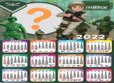 Calendário 2022 Militar Tema Infantil Grátis