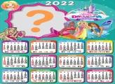 Calendário 2022 Barbie Dreamtopia Colar Imagem