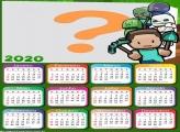 Calendário 2020 Minecraft Exploration
