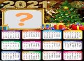 Montagem de Calendário 2021 Árvore de Natal