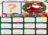 Calendário 2020 Papai Noel Negro