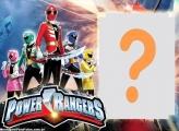 Colagem de Foto dos Power Rangers