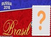 Rússia 2018 Moldura Brasil