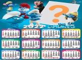 Calendário 2022 The Smurfs Fazer Online