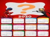 Foto Colagem Calendário 2020 Ladybug