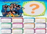 Montar Foto Online Calendário 2020 Chiquititas