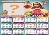 Calendário 2021 Religioso Sagrado Coração de Jesus