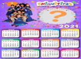 Calendário 2021 Chiquititas