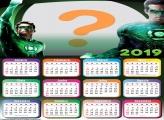 Calendário 2019 do Lanterna Verde