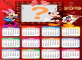 Calendário 2019 Mickey Apaixonado