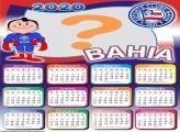 Montar Foto Online Calendário 2020 do Bahia