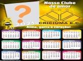Calendário 2021 Criciúma Time de Futebol