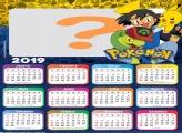 Calendário 2019 do Pokémon Desenho