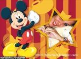 Moldura Mickey Estrela Disney