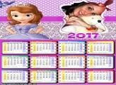 Calendário 2017 Princesa Sofia em Encantia