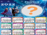 Calendário 2022 Frozen II Montar Online