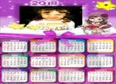 Calendário 2018 da Jolie